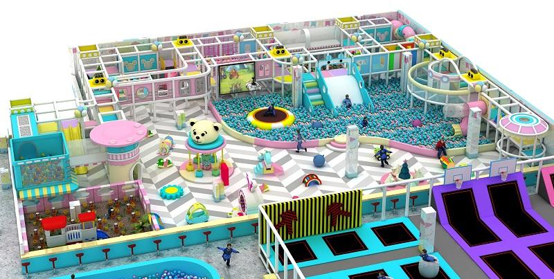 室内淘气堡海洋球池的特点是什么